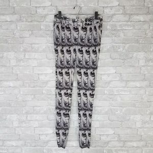 Anthropologie Leifsdottir Printed Jogger Pants